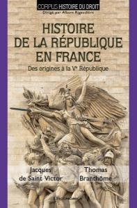 Branthôme_Histoire de la République en France_Couverture