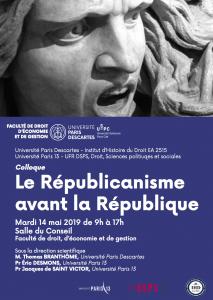 14 mai 2019_Le Républicanisme avant la République
