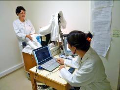 Maternit de l 39 h pital bichat claude bernard en - Hopital port royal service gynecologie ...